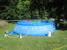 Intex Inflatable Pool Above Ground Pool Ladder For Intex Fascinating Above Ground Pool