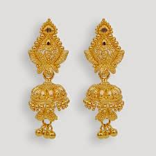 gold jhumka earrings design 49 earrings collection beautiful variety of