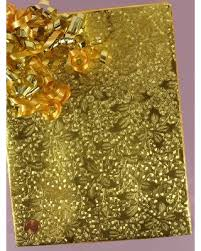 gold foil wrap shopping s deal on gold embossed christmas