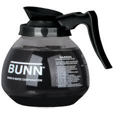 Coffee Pot coffee pot decanter bunn 64oz glass coffee pot 42400 0103 black