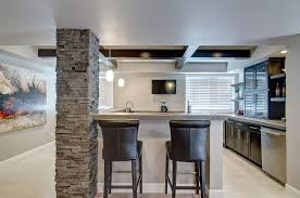 Pictures Of Finished Basements With Bars by Basement Wet Bar And Seating Basement Ted Pinterest Basement