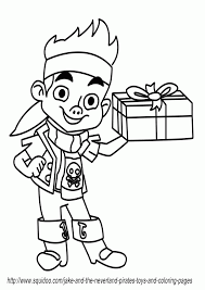 free jake neverland pirates coloring pages print