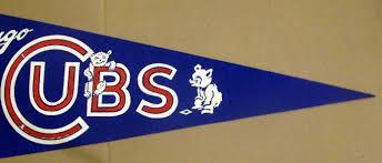 Cubs Flag Lot Detail 60 U0027s Chicago Cubs