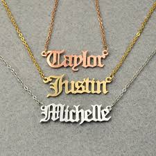 name necklace online images Online shop personalized name necklace customized nameplate jpg