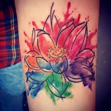 watercolour tattoo by lisa at taylor made tattoos king u0027s lynn
