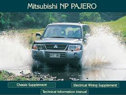 mitsubishi montero workshop u0026 technical information manual pdf