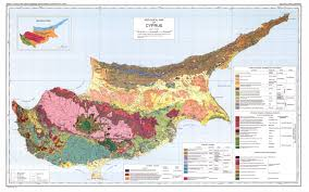 Moa Map Geological Survey Department Geology Of Cyprus Geological Map