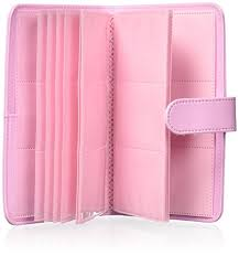wallet size photo album fujifilm instax wallet album 108 pink photo