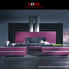 popular modular kitchen cabinets buy cheap modular kitchen ready to assemble kitchen cabinet purple lacquer
