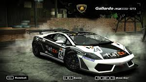 speed of lamborghini gallardo need for speed most wanted cars by lamborghini nfscars