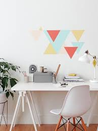 wall paint patterns make this eclectic geometric wall pattern colorhouse