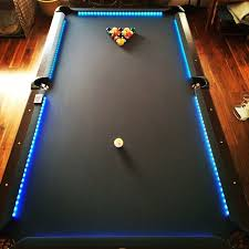 how to put a pool table together put leds on my pool table ledlighting pooltable billards by
