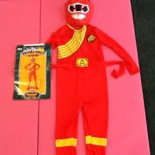 power ranger wild force red ranger costume sale