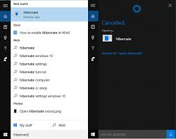 Resume From Hibernation How To Turn Your Pc On And Off Using Cortana Text And Voice