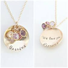 mothers day necklace personalized birthstone necklace mothers day gift gift for