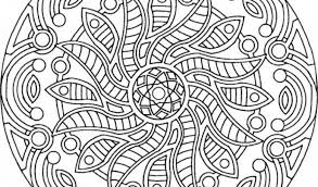 coloring pages free mandala coloring pages print printable