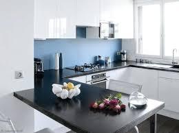 idee cuisine blanche deco cuisine blanche deco cuisine blanc et bois design deco cuisine