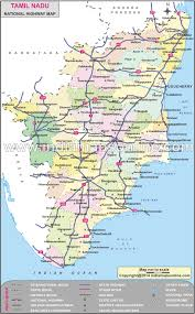 tamil nadu map tamil nadu national highway map national highway map of tamil nadu