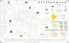 Himalayan Mountains Map Master Map Uttarakhand Solidarity Network The Original
