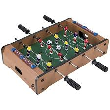 amazon com foosball table amazon com tabletop foosball table portable mini table football
