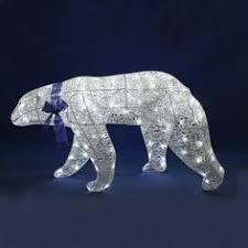 illuminated polar light with bow 15cm from