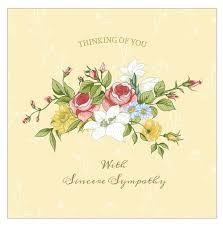 condolences greeting card 7 free printable condolence and sympathy cards