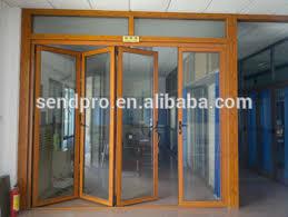 Aluminium Folding Patio Doors Wood Effect Aluminium Folding Patio Doors Prices Buy Folding