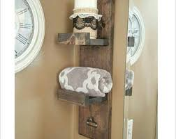 Bathroom Towel Rack Wood Towel Rack Bathroom Shelf
