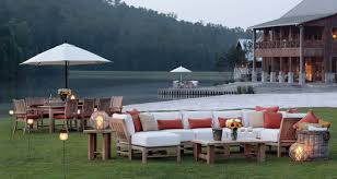 Teak Sectional Patio Furniture Stretch Your Imagination With Outdoor Sectional Seating Summer