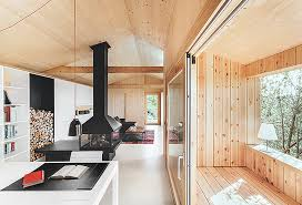 studio homes wood studio house in barcelona features a host of eco credentials