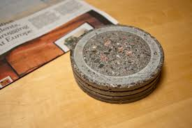 diy concrete coasters trivets 4 steps with pictures