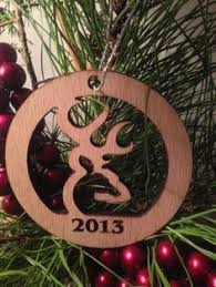 personalized aluminum camo christmas ornament ross creations