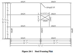Floor Framing Plan Task 1 Exercise 24 Problem 1 Prepare A Structura Chegg Com