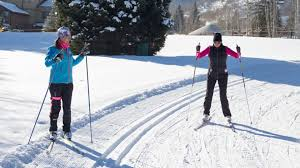 private skate cross country skiing lesson in park city ut white