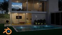 design a house create design a modern 3d house in blender udemy