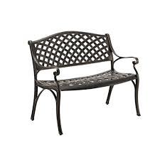 Wicker Style Outdoor Furniture by Walker Edison Furniture Company 42 In Cast Aluminum Wicker Style