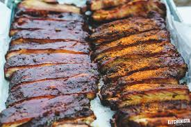 memphis style smoked spare ribs the kitchenista diaries