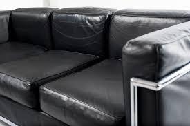 sofa lc3 le corbusier alivar 1928 italian design modernism