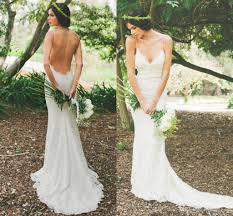 backless lace wedding dresses may new 2016 backless wedding dress lace spaghetti