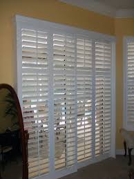 Bypass Shutters For Patio Doors Best Bypass Plantation Shutters Sliding Pic For On Glass Trends