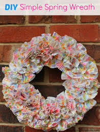 simple spring wreath craft simply southern mom