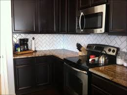 kitchen white kitchen backsplash green glass subway tile