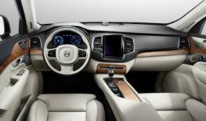 volvo xc60 2015 interior features on dashboard with suede leather for seats cover suv car