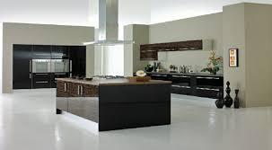 cuisine murale cuisine et bois moderne decoration murale taupe ideeco
