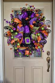 Easy Halloween Wreath by Halloween Craft Lace Wreath Use This Concept To Make Any Holiday