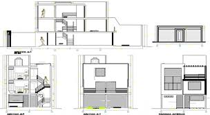3 storey house plans autocad file 3 story house plan