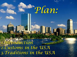 customs and traditions in the usa ppt
