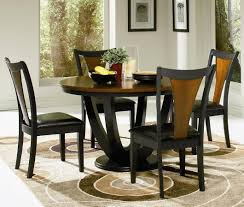 Round Black Dining Table Set Dining Rooms - Round kitchen table sets