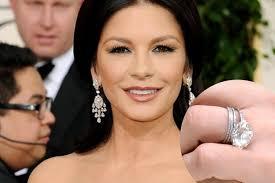catherine zeta jones celebrity engagement ring engagement rings