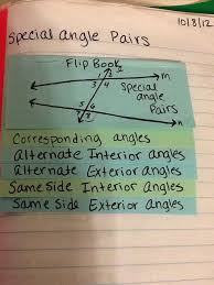 journal wizard geometry parallel lines transversals and